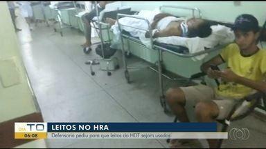 Defensoria pede que leitos vagos do Hospital de Doenças Tropicais sejam usados pelo HRG - Defensoria pede que leitos vagos do Hospital de Doenças Tropicais sejam usados pelo HRG