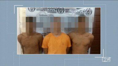 Três adolescentes são apreendidos suspeitos de latrocínio em Imperatriz - Roubo seguido de morte aconteceu no final de semana no município maranhense