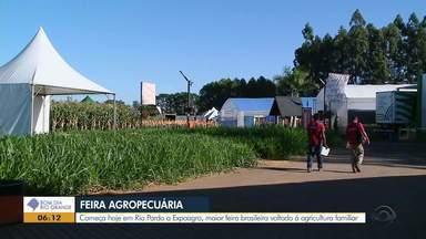 Começa nesta terça-feira (26), em Rio Pardo, a 19º edição da Expoagro - Evento é a maior feira brasileira voltada à agricultura familiar.