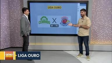 Cerrado Basquete vence e chega à vice-liderança da Liga Ouro - Cerrado Basquete vence e chega à vice-liderança da Liga Ouro