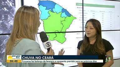Chuvas estão irregulares no Ceará em 2019 - Funceme faz balanço de fevereiro e apresenta previsão para o fim de março.
