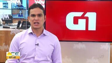 Reveja os destaques do G1 desta terça-feira (26) - Entre os assuntos,o ressarcimento da Enel a clientes que tiveram o fornecimento de energia interrompido por causa dos ataques violentos em janeiro de 2019.