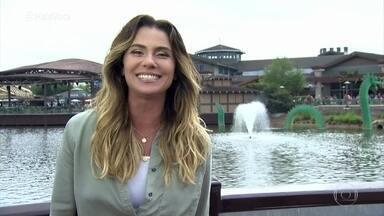 Giovanna Antonelli mostra as novidades do Disney Springs - Área reúne lojas e restaurantes na cidade de Orlando, nos Estados Unidos