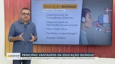Conheça os benefícios da educação bilíngue - Facilidade na aprendizagem e melhor desenvoltura são fatores positivos.