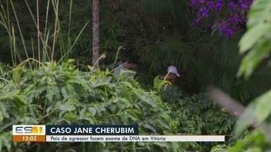 Pais de Jonas Amaral, que agrediu Jane Cherubim, vão fazer exame de DNA em Vitória - Um corpo foi encontrado em Dores do Rio Preto. Família acredita ser de Jonas.
