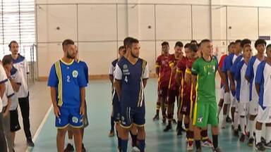 Segunda edição da Taça Condemat de Futsal é realizado com equipes sub-20 - Nos três jogos da rodada de abertura, a molecada balançou as redes.
