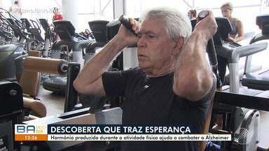 Pesquisadores estudam hormônio liberado na atividade física que ajuda a combater Alzheimer - A descoberta traz esperança para idosos e para a sociedade, pois contribuí ao hábito do exercício físico.