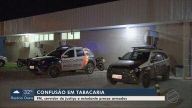 Polícia: confusão em tabacaria, em Cuiabá - Polícia: confusão em tabacaria, em Cuiabá.