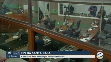 CPI dos Filantrópicos: novas denúncias contra Santa Casa - CPI dos Filantrópicos: novas denúncias contra Santa Casa.