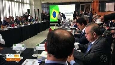 Belivaldo Chagas participa de fórum de governadores do Brasil em Brasília - Vários assuntos estão sendo debatidos.
