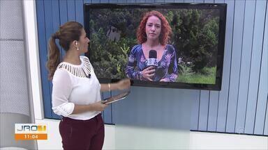 Túnel é encontrado em presídio de Ji-Paraná - Repórter Natália Pessoa conta mais sobre o caso