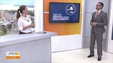 No quadro Seus Direitos, o defensor público Fábio Roberto fala sobre a saúde no estado - Comentarista explica como a Justiça pode ajudar em problemas com a saúde pública