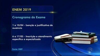 Edital do Enem 2019 é divulgado pelo INEP - O edital do Exame Nacional do Ensino Médio (Enem) 2019 foi divulgado nesta segunda-feira (25) pelo Instituto Nacional de Estudos e Pesquisas Educacionais Anísio Teixeira (Inep) e mudanças na prova foram anunciadas.