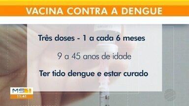 Para quem já teve dengue, vacina está disponível na rede particular de saúde - São três doses e o custo total pode passar de R$ 800.