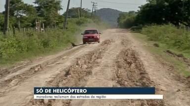 Pequenos produtores rurais reclamam de condições das estradas do assentamento 72 - Em Corumbá.
