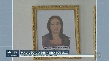 Ex-vereadora de Pinhalzinho é presa por suposto mau uso do dinheiro público - Aparecida de Fátima Franco de Godoi, de 56 anos, foi presidente da Câmara dos Vereadores entre 2007 e 2008.