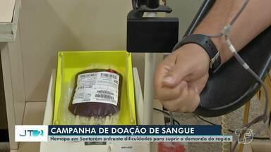 Casa Rosa faz campanha para aumentar número de doações de sangue no Hemopa - Ação será realizada na sexta-feira (29).