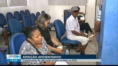 JPB2JP: Comprovação de vida dos aposentados pode ser feita também no INSS - Mais informações: www.inss.gov.br