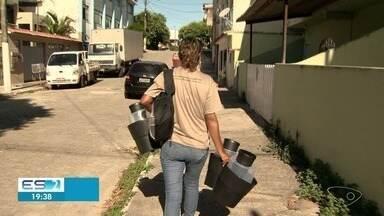 Armadilhas contra mosquito que transmite dengue são instaladas em Vila Velha, ES - Cidade recebeu mais 800 armadilhas pra capturar o mosquito no bairros de maior incidência.