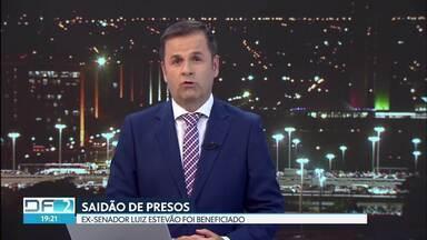 Ex-senador Luiz Estevão é liberado em saidão - Ele foi beneficiado depois de progressão de regime. Decisão foi publicada no começo do mês.