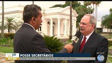 Dois secretários novos secretário tomam posse no Governo do Estado do Piauí - Dois secretários novos secretário tomam posse no Governo do Estado do Piauí