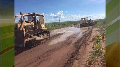 Produtores rurais de denunciam péssimas qualidades de estradas pelo Piauí - Produtores rurais de denunciam péssimas qualidades de estradas pelo Piauí