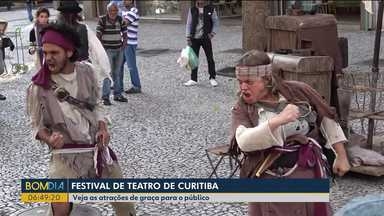 Veja as atrações gratuitas do Festival de Teatro de Curitiba - É a 28ª edição do evento.