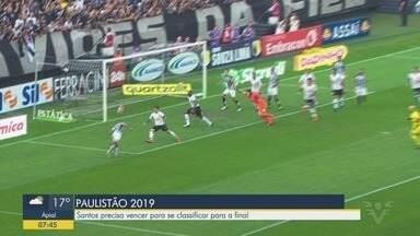 Santos perde para o Corinthians na semifinal do Campeonato Paulista - Time da Vila Belmiro perdeu de 2x1 na Arena Corinthians no último domingo (30).