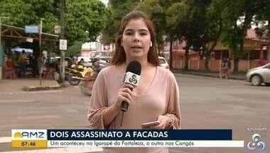 Foi registrado nesse final de semana dois assassinatos à facadas, em Macapá - Em um dos crimes uma mulher foi assassinada no Igarapé da Fortaleza.