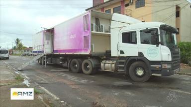 Carreta contra o câncer faz exames de mamografia sem custos em Ji-Paraná - Pelo menos 300 mulheres já foram atendidas no município