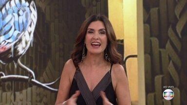 Fátima Bernardes parabeniza Ana Maria Braga - A partir da próxima semana as duas serão vizinhas na programação