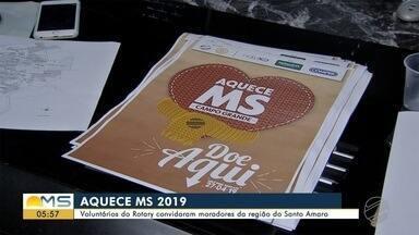 Campanha Aquece MS 2019 começa nesta segunda-feira - Campo Grande, Dourados e Corumbá terão ações da campanha para arrecadar roupas, agasalhos, cobertores e ajudar as pessoas mais carentes na hora de encarar o frio.