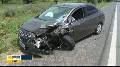 Dois acidentes com motos na BR-230 deixam três mortos em Sousa, na PB - Acidentes aconteceram na manhã deste domingo (31) nas imediações da cidade de Sousa, no Sertão.
