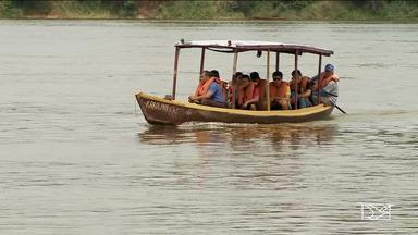 Nível do rio Tocantins sobre mais de quatro metros em Imperatriz - Defesa Civil acompanha a situação e diz que ainda não há risco de enchente.