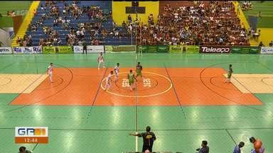 Veja como foram os jogos do sábado (30) na Copa TV Grande Rio de Futsal - As partidas são realizadas no ginásio do Sesc de Petrolina.
