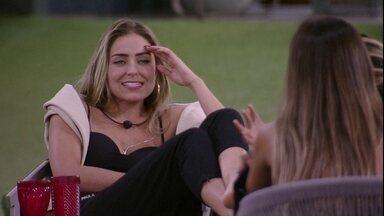 "Paula fala sobre recado de Tiago Leifert: ""É uma paz de espírito' - Sister fala sobre recado"