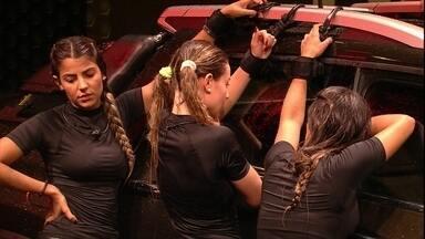 Paula diz a Hariany e Carolina: 'Chegando no limite, a gente passa dele' - Sister encoraja sisters em Prova