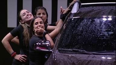 Paula manda recado para o pai: 'Vou te dar o carro de presente de aniversário' - Paula manda recado para o pai: 'Vou te dar o carro de presente de aniversário'