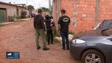 Polícia Civil faz operação de combate à violência contra a mulher - Agentes estão em busca de agressores enquadrados na Lei Maria da Penha que não cumpriram medidas protetivas no Paranoá, no Itapoã, em São Sebastião e na Asa Sul.