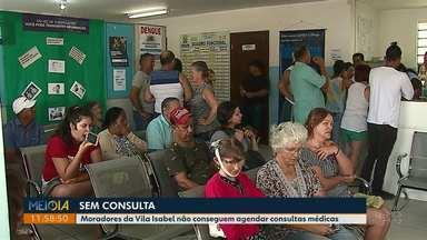 Moradores dizem não conseguir agendar consultas médicas na Vila Isabel, em Ponta Gossa - Eles afirmam que não há médicos para consultar na unidade de saúde.