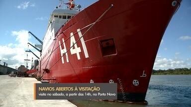 Navios antárticos da Marinha estão abertos à visitação em Rio Grande - Ary Rongel e Almirante Maximiano podem ser visitados neste sábado, de graça, no Porto Novo. Embarcações finalizaram mais uma operação brasileira na Antártica.