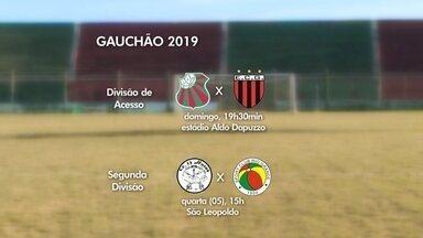 São Paulo joga neste domingo pela Divisão de Acesso do Gauchão - Partida é às 19h30min, no estádio Aldo Dapuzzo, contra o Guarani de Venâncio Aires.
