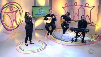 Grupo 'Alma Lusitana' apresenta musica portuguesa no Compartilhe RS - Os integrantes apresentam o Fado.