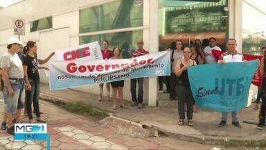 Pacientes conveniados ao Ipsemg fazem protestos em Ipatinga - Entendimentos médicos pelo Ipsemg estão suspensos em várias unidades de saúde.