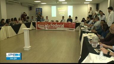 JPB2JP: Famup reúne prefeitos, deputados federais e senadores da PB - Em busca de recursos.