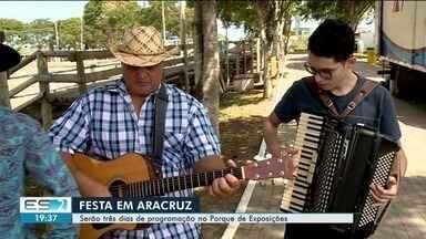 Aracruz tem três dias de festa para comemorar aniversário de 171 anos - Várias bandas vão se apresentar no evento.