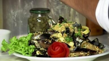 Culinária caiçara tem delicias de frutos do mar - Culinária caiçara tem delicias de frutos do mar.