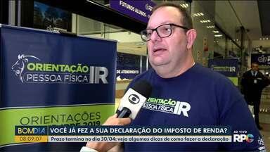 Tem mutirão do Imposto de renda em Curitiba - Prazo termina no dia 30/04; veja algumas dicas de como fazer a declaração, na praça Osório