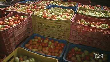 Consumidores reclamam do aumento no preço dos alimentos no Maranhão - Comerciantes dizem que isso é provocado pelo período chuvoso.
