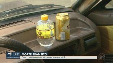 Motoristas bêbados provocam 5 mortes em 3 meses na região de Ribeirão Preto - Advogado explica como funciona a lei para casos de imprudência no trânsito.